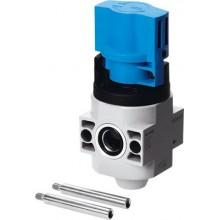 Отсечной клапан FESTO HE-2-3/8-QS-10