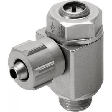 Дроссель с обратным клапаном FESTO GRLA-1/8-PK-4-B