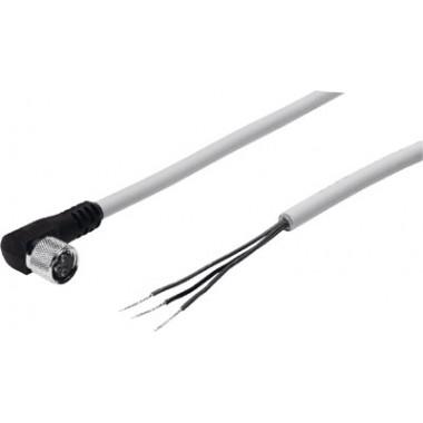 Соединительный кабель FESTO SIM-M8-3WD-2,5-NSL-PU