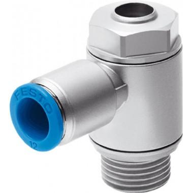 Дроссель с обратным клапаном FESTO GRLA-1/4-QS-8-D