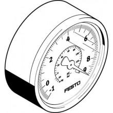 Вакуумметр FESTO VAM-63-V1/9-R1/4-EN