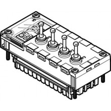 Аналоговый модуль FESTO CPX-4AE-P-D10