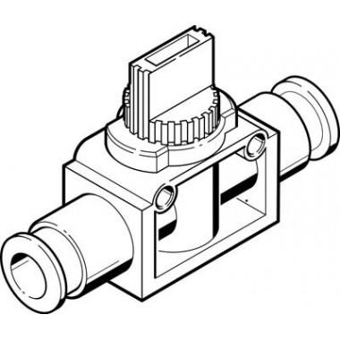 Отсечной клапан FESTO HE-2-QS-8