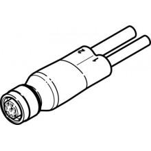 Двойной кабель FESTO NEDU-L1R2-V9-M12G8-E-LE5-5R1-LE3-5R2