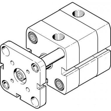 Компактный цилиндр FESTO ADNGF-25-25-P-A