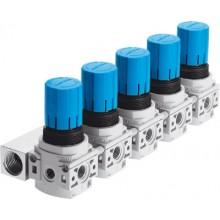 Коллектор регуляторов давления FESTO LRB-1/4-DB-7-O-K5-MINI
